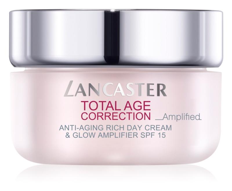 Lancaster Total Age Correction _Amplified výživný protivráskový krém pro rozjasnění pleti