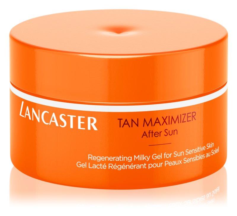 Lancaster Tan Maximizer gel creme de proteção solar para pele sensível