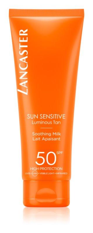 Lancaster Sun Sensitive opaľovacie mlieko pre citlivú pokožku SPF 50