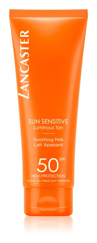 Lancaster Sun Sensitive Sun Milk for Sensitive Skin SPF 50