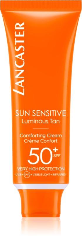 Lancaster Sun Sensitive crema de soare pentru fata SPF50+