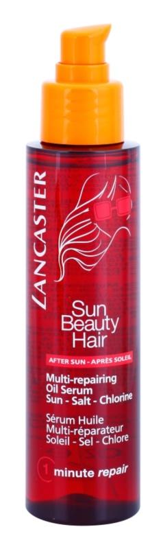 Lancaster Sun Beauty Hair Regenererende Olie Serum  voor beschadigd Haar door Chloor, Zon en Zoutwater
