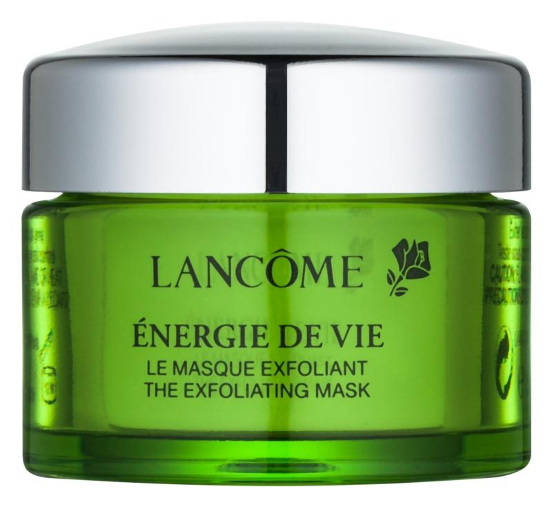 Lancôme Énergie De Vie masque exfoliant pour tous types de peau, y compris peau sensible