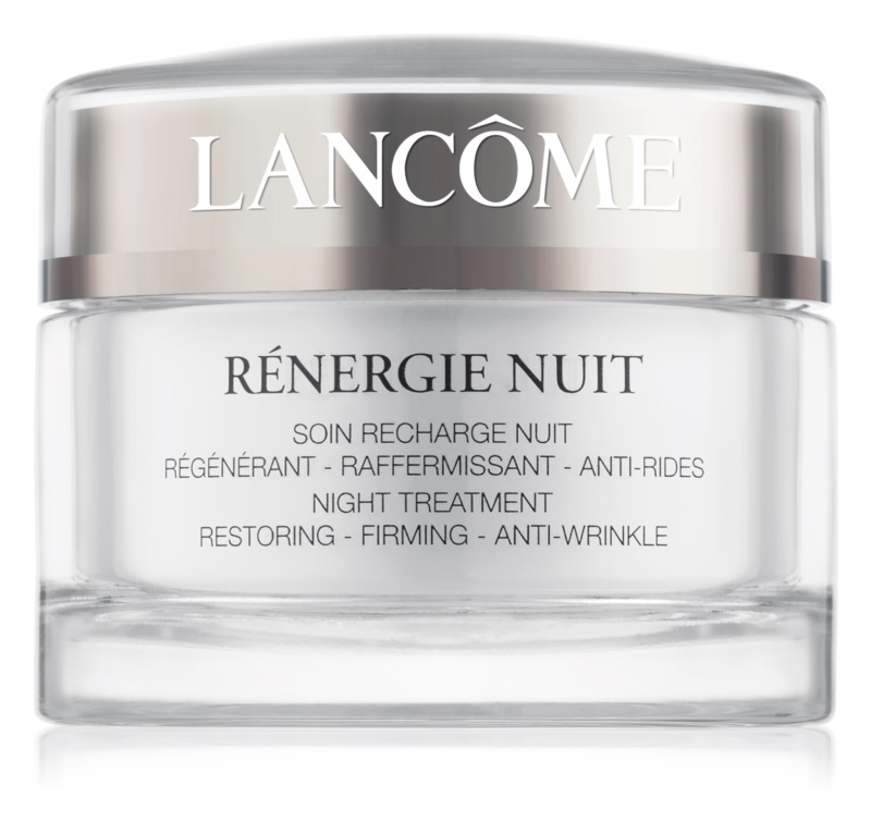 Lancôme Rénergie Nuit noční zpevňující a protivráskový krém pro všechny typy pleti