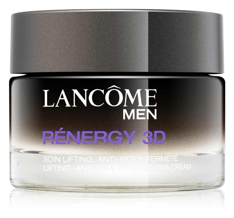 Lancôme Men Rénergy 3D denný spevňujúci a protivráskový krém pre mužov