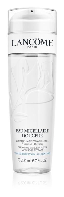 Lancôme Eau Micellaire Douceur Mizellen-Reinigungswasser mit Rosenduft