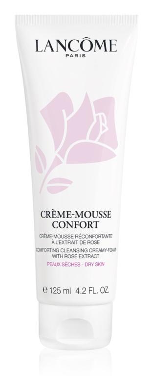 Lancôme Crème-Mousse Confort espuma de limpeza apaziguador para pele seca
