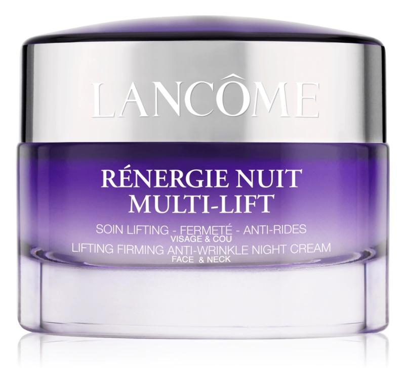 Lancôme Rénergie Nuit Multi-Lift creme de noite fortificante e antirrugas para rosto e pescoço