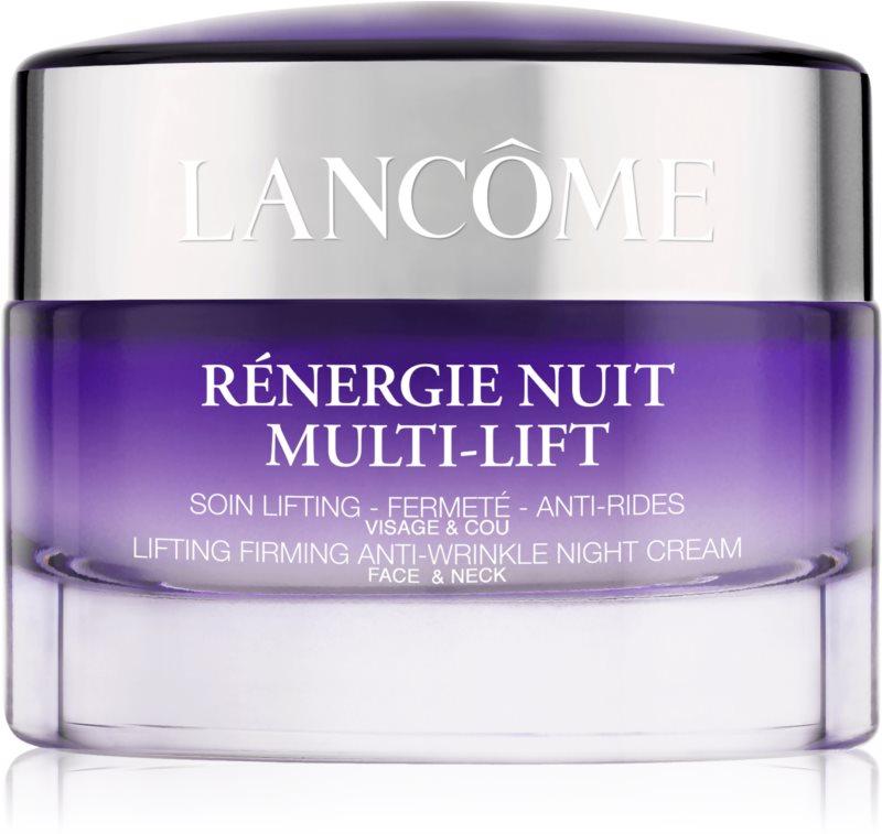 Lancôme Rénergie Nuit Multi-Lift Verstevigend Anti-Rimpel Nachtcrème  voor Gezicht en Hals