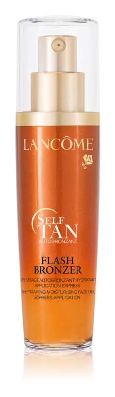 lanc me flash bronzer gel auto bronzant visage. Black Bedroom Furniture Sets. Home Design Ideas