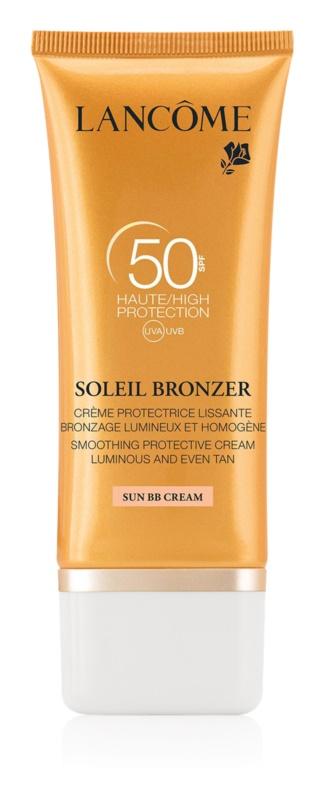 Lancôme Soleil Bronzer крем для обличчя для засмаги SPF 50