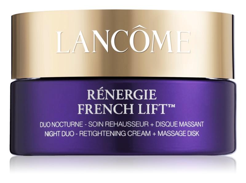 Lancôme Rénergie French Lift™ noční krém s masážním diskem