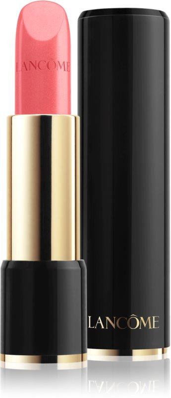 Lancôme L'Absolu Rouge Cream кремова помада  з екстрактом равлика та золотом