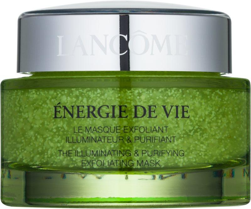 Lancôme Énergie De Vie eksfoliacijska maska za vse tipe kože, vključno z občutljivo kožo