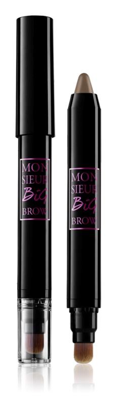 Lancôme Monsieur Big  Brow олівець для брів  зі щіточкою