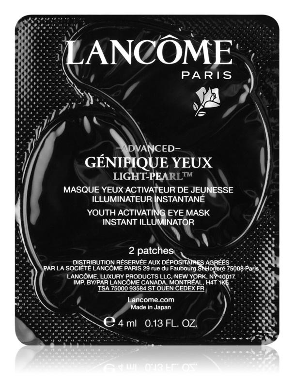 Lancôme Génifique Advanced Yeux Light-Pearl™ mascarilla parche para contorno de ojos rejuvenecedor de la piel