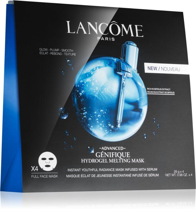 Lancôme Génifique Advanced подмладяваща и озаряваща маска с хидратиращ ефект