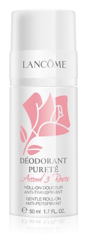 Lancôme Accord 3 Roses Déodorant Pureté Roll-On Deodorant  For Sensitive Skin