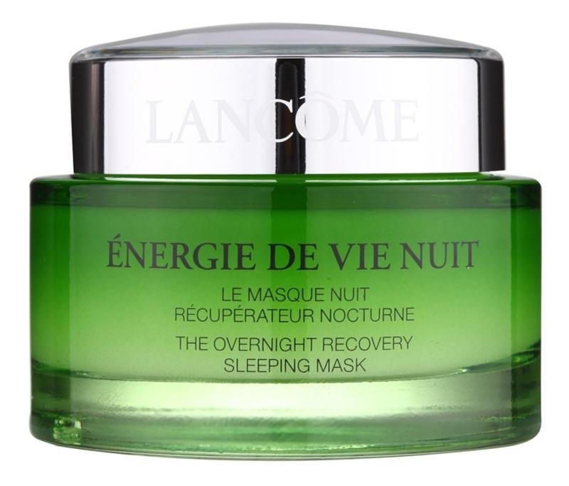 Lancôme Énergie De Vie masque de nuit rénovateur pour peaux fatiguées