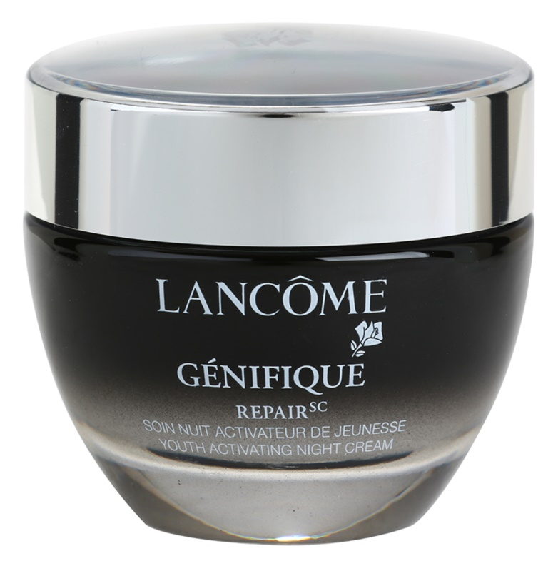 Lancôme Génifique crema de noche rejuvenecedora  para todo tipo de pieles