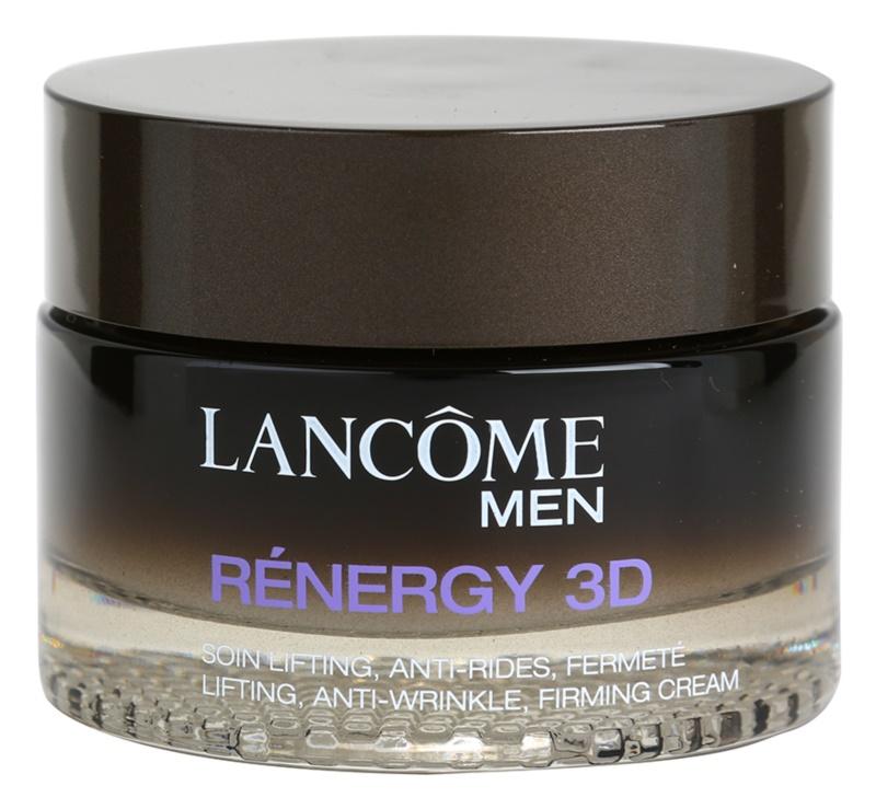 Lancôme Men Rénergy 3D denní zpevňující a protivráskový krém pro muže