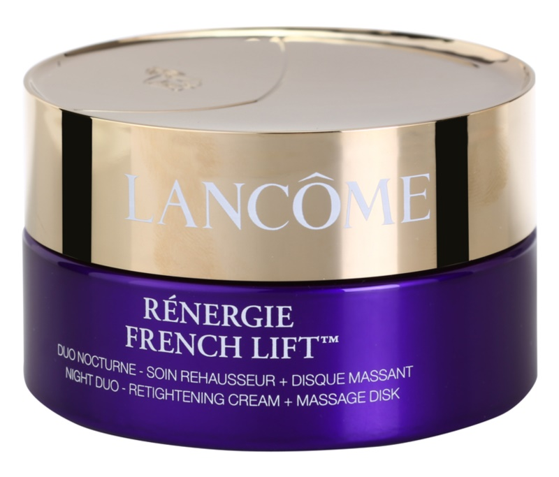 Lancôme Rénergie French Lift Night Cream With Massage Disc