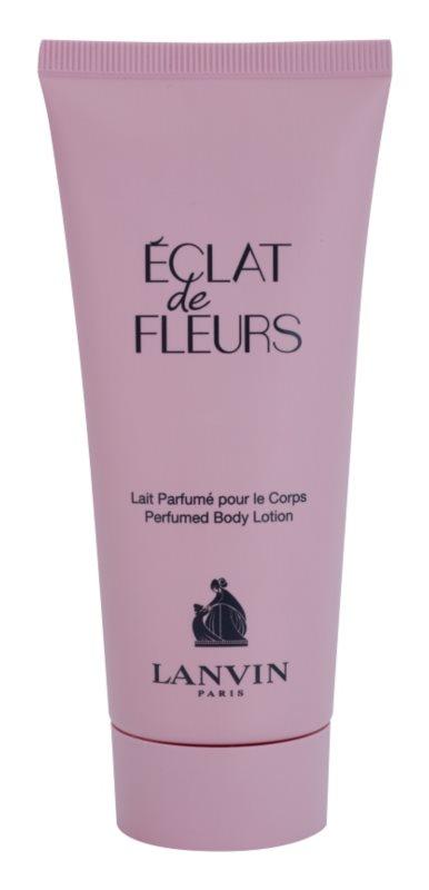 Lanvin Éclat de Fleurs тоалетно мляко за тяло за жени 100 мл.