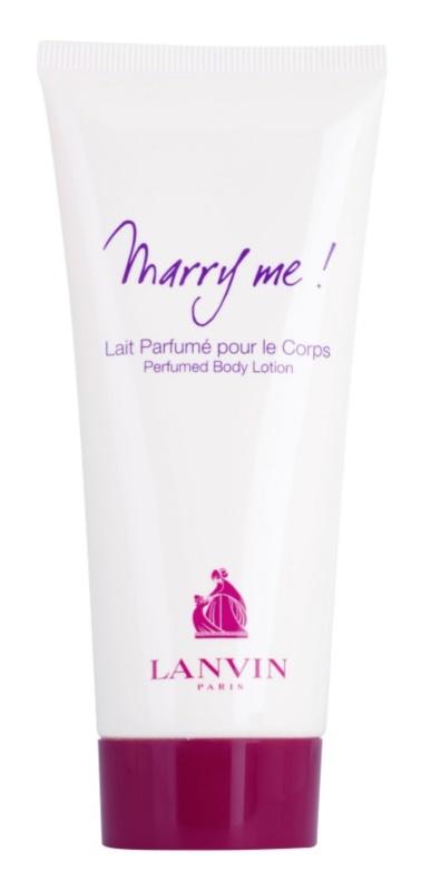 Lanvin Marry Me! mleczko do ciała dla kobiet 100 ml