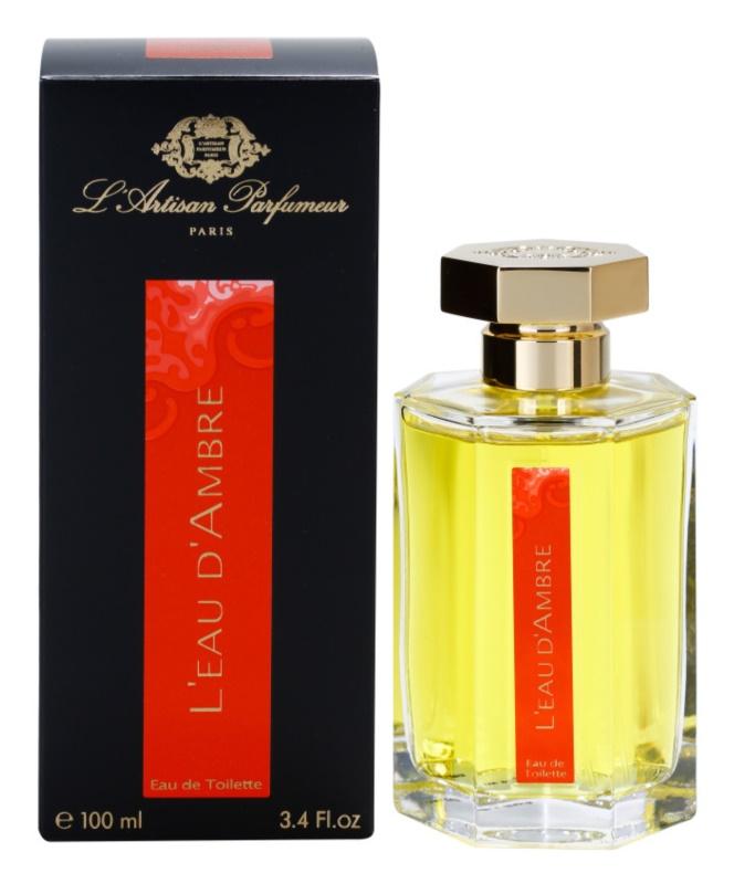 L'Artisan Parfumeur L'Eau d'Ambre Eau de Toilette for Women 100 ml
