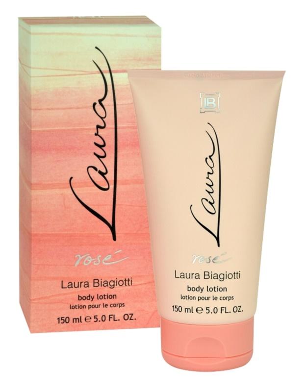 Laura Biagiotti Laura Rosé tělové mléko pro ženy 150 ml