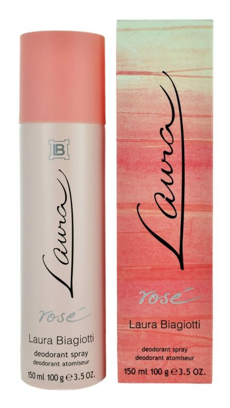 Laura Biagiotti Laura Rosé déo-spray pour femme 150 ml