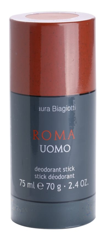 Laura Biagiotti Roma Uomo deostick pro muže 75 ml