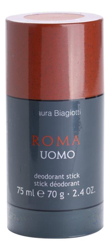 Laura Biagiotti Roma Uomo desodorante en barra para hombre 75 ml