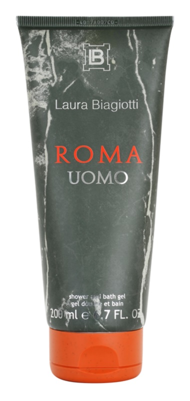 Laura Biagiotti Roma Uomo gel douche pour homme 200 ml
