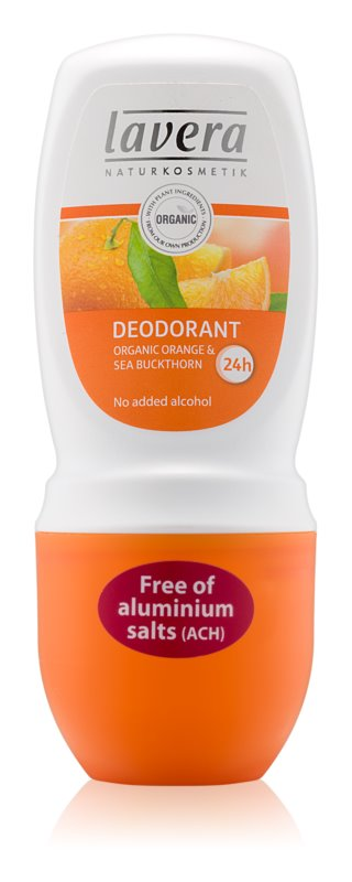 Lavera Body Spa Orange Feeling desodorante roll-on