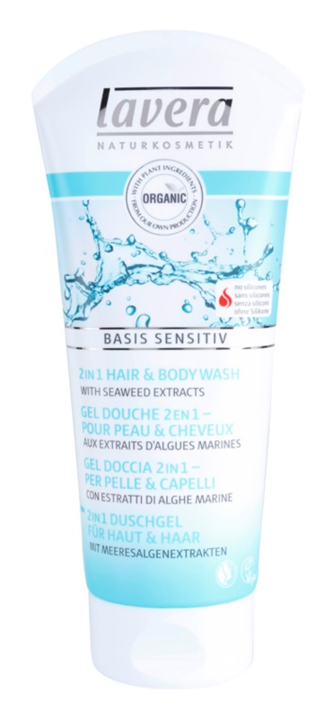 Lavera Basis Sensitiv Body and Hair Shower Gel