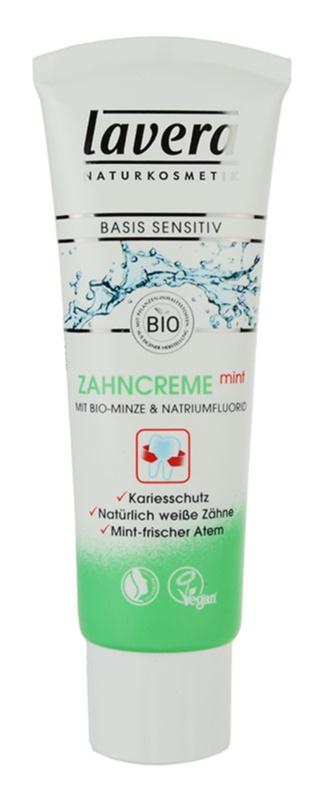 Lavera Basis Sensitiv dentífrico de menta