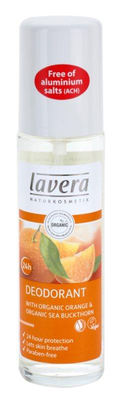 Lavera Body Spa Orange Feeling desodorizante em spray