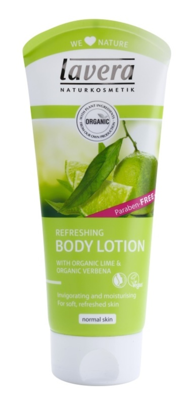 Lavera Body Spa Lime Sensation losjon za telo