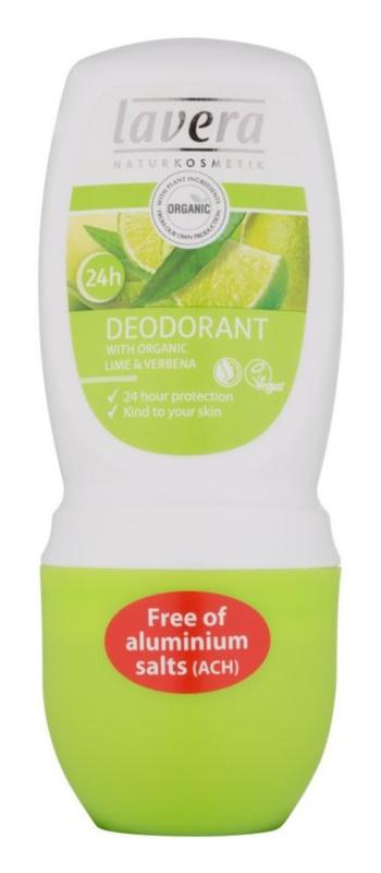 Lavera Body Spa Lime Sensation dezodorant w kulce