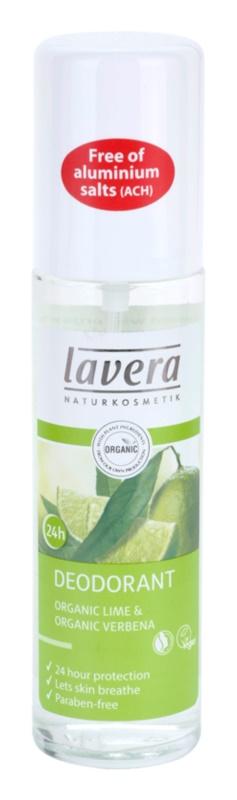 Lavera Body Spa Lime Sensation deodorant spray