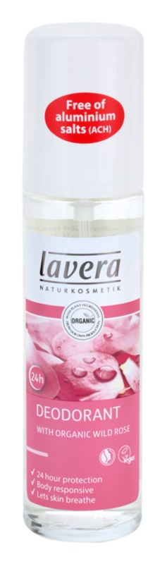 Lavera Body Spa Rose Garden deodorant ve spreji
