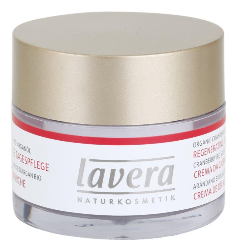 Lavera Faces Bio Cranberry and Argan Oil denní regenerační krém 45+