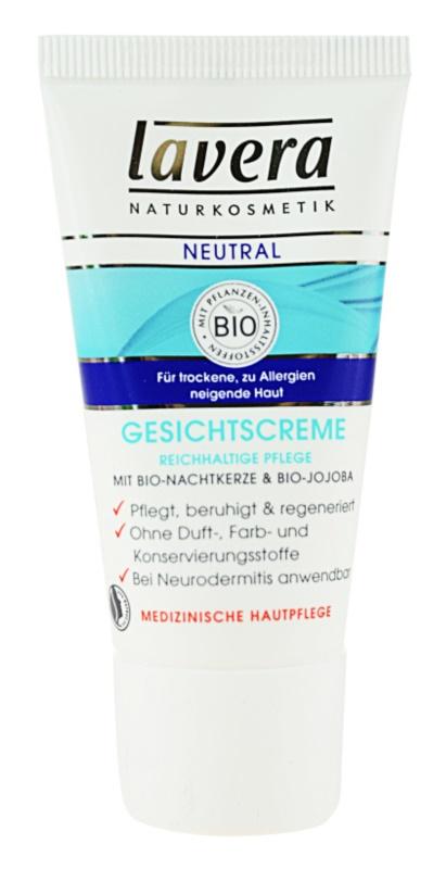 Lavera Neutral creme de dia para pele sensível