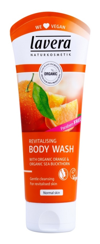 Lavera Body Wash Revitalising sprchový gél