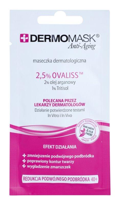 L'biotica DermoMask Anti-Aging zpevňující maska na podbradek 40+