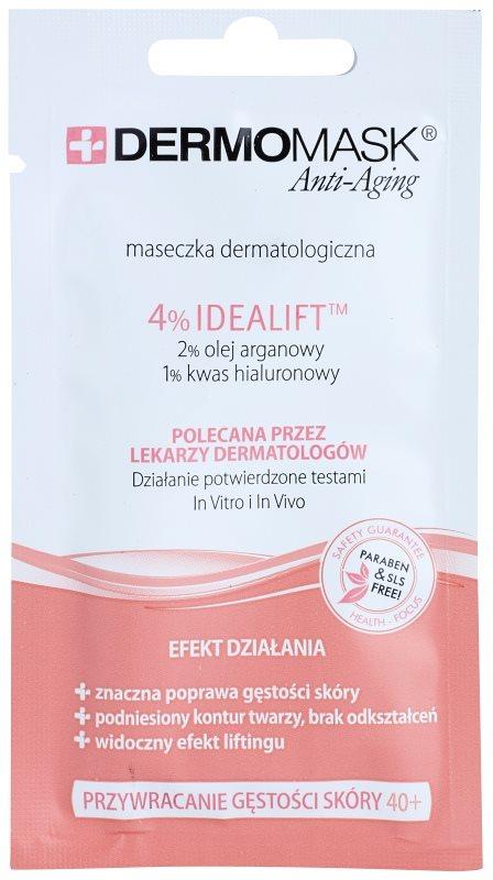 L'biotica DermoMask Anti-Aging maska pre obnovu hutnosti pleti 40+