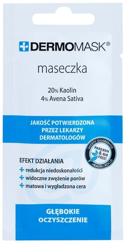 L'biotica DermoMask mascarilla limpiadora para pieles con imperfecciones