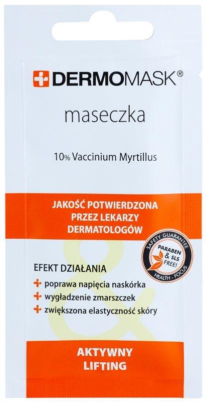 L'biotica DermoMask liftingová maska pre vypnutie pleti
