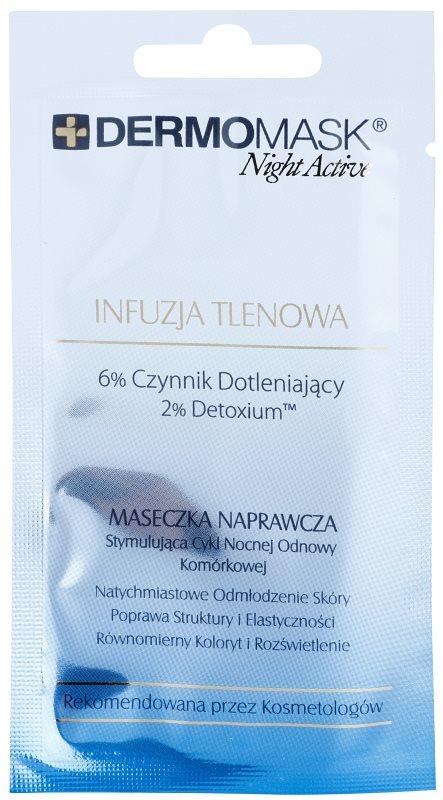 L'biotica DermoMask Night Active maseczka dotleniająca